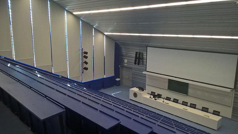 Der blaue Hörsaal