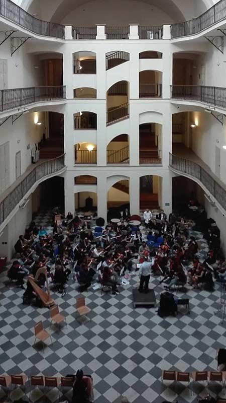 Musik an der Karlsuniversität in Prag