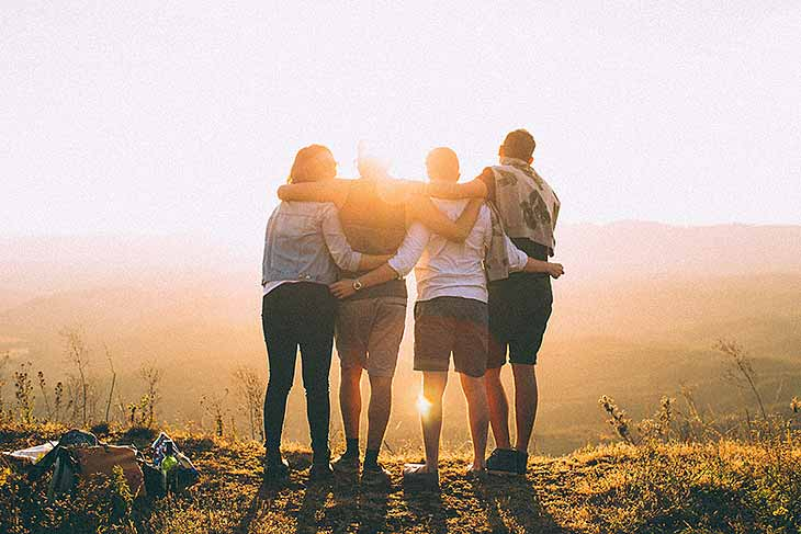 Finde Freunde fürs Leben